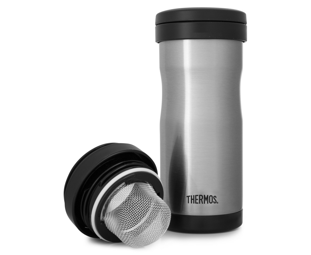 Thermos Tea Tumbler With Infuser 350ml Insulated Leakproof